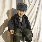 Куклы и игрушки handmade. Livemaster - original item Doll Fisherman portrait photo. Handmade.