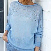 Одежда handmade. Livemaster - original item Long sleeve fishnet top. Handmade.