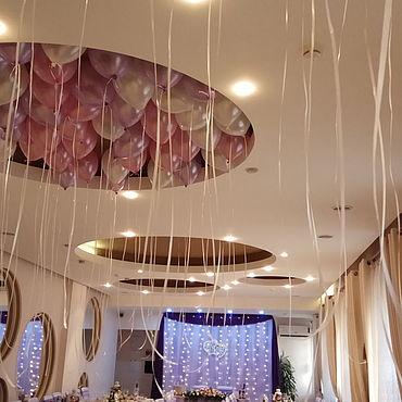 """Свадебный салон ручной работы. Ярмарка Мастеров - ручная работа Декор зала""""Лиловая мечта"""". Handmade."""