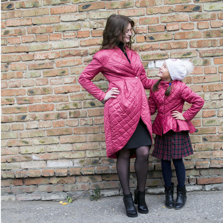 стеганый комплект в стиле Family Look, Одежда, Пенза, Фото №1
