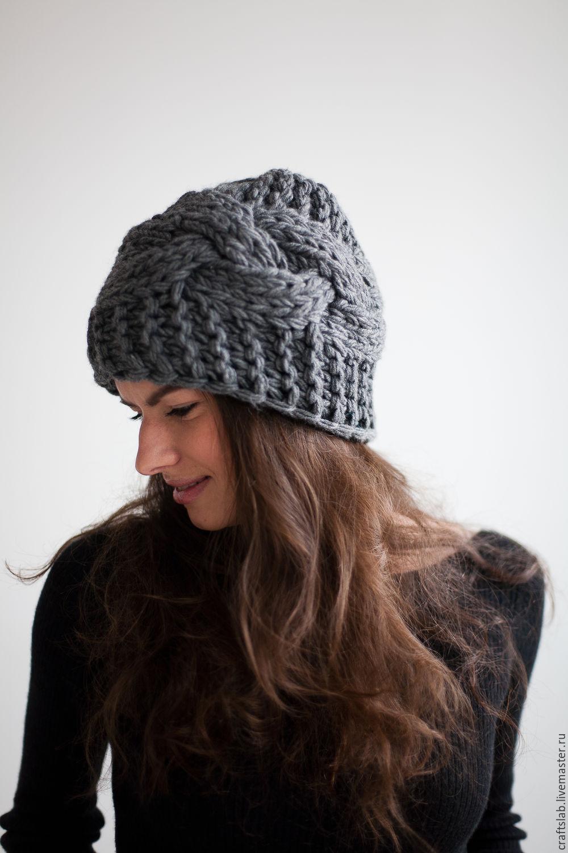 Зимнее шапки мастер класс