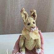 Куклы и игрушки ручной работы. Ярмарка Мастеров - ручная работа Кролик миниатюрный. Handmade.
