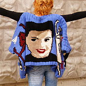 Одежда ручной работы. Ярмарка Мастеров - ручная работа Ваш Портрет на тунике. Handmade.