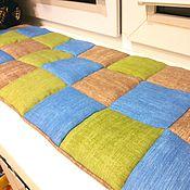 Для дома и интерьера ручной работы. Ярмарка Мастеров - ручная работа Подушка сидушка коврик. Handmade.