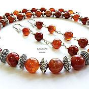 Украшения handmade. Livemaster - original item Beads and earrings,