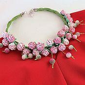 Украшения handmade. Livemaster - original item Necklace of flowers