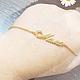 Браслеты ручной работы. Ярмарка Мастеров - ручная работа. Купить браслет кулон мама. Handmade. Золотой, браслет для мамы