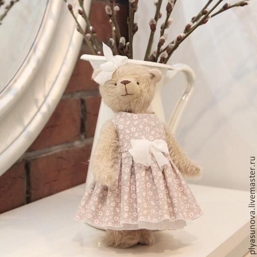 Мишки Тедди ручной работы. Ярмарка Мастеров - ручная работа. Купить Мишка тедди Машенька - мягкая игрушка. Handmade. Мишка