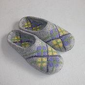 """Обувь ручной работы. Ярмарка Мастеров - ручная работа Тапочки """"Домашний уют 37"""". Handmade."""