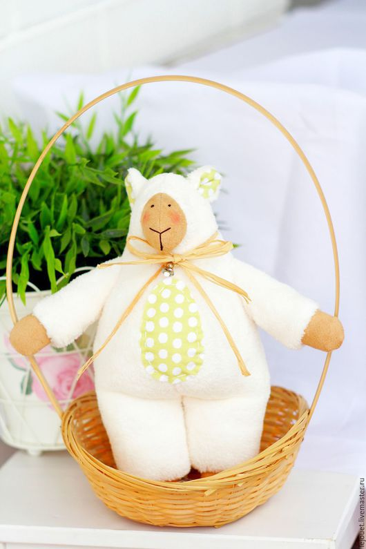 Куклы Тильды ручной работы. Ярмарка Мастеров - ручная работа. Купить Овечка. Handmade. Тильда овечка, овечка ручной работы