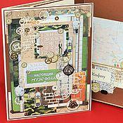 Открытки ручной работы. Ярмарка Мастеров - ручная работа БОЛЬШАЯ (26х38 см) мужская открытка в коробке  34. Handmade.