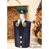 Сувениры и подарки handmade. Livemaster - original item Souvenirs by profession: To the FSB officer of the border service. Handmade.