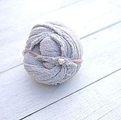 Работы для детей, ручной работы. Ярмарка Мастеров - ручная работа Комплект маленькая повязочка для фотосессии + марлевая обмотка. Handmade.