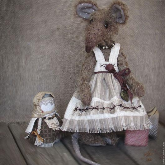 Мишки Тедди ручной работы. Ярмарка Мастеров - ручная работа. Купить Василиса: льняное дефиле. Handmade. Комбинированный, лён