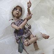 """Куклы и игрушки ручной работы. Ярмарка Мастеров - ручная работа Авторская живая игрушка. Шарнирная кукла птичий эльф """"Бесика"""". Handmade."""