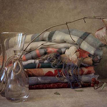 Картины и панно ручной работы. Ярмарка Мастеров - ручная работа Натюрморт Фую-гомори - Зимняя спячка. Handmade.