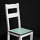 Мебель ручной работы. Ярмарка Мастеров - ручная работа. Купить Деревянный состаренный стул #1. Handmade. Кухня, ручная работа