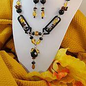 Украшения handmade. Livemaster - original item Necklace & earrings