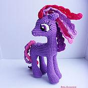 Мягкие игрушки ручной работы. Ярмарка Мастеров - ручная работа Пони. Вязаная игрушка. Handmade.