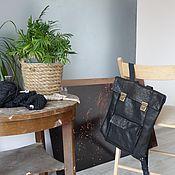 Сумки и аксессуары ручной работы. Ярмарка Мастеров - ручная работа Кожаный рюкзак Basicskin. Handmade.