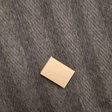 Одежда ручной работы. Ярмарка Мастеров - ручная работа Ткань шерсть пальтовая серая в полоску цена за отрез. Handmade.