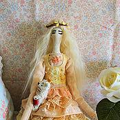 Куклы и игрушки ручной работы. Ярмарка Мастеров - ручная работа Интерьерная кукла Тильда Оливия. Handmade.