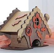 Домики ручной работы. Ярмарка Мастеров - ручная работа Чайный домик избушка подарок маме бабушке на день рождения, новый год. Handmade.