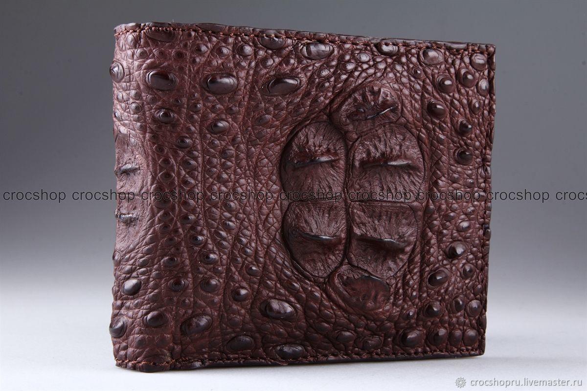 Wallet crocodile leather IMA0225K11, Wallets, Moscow,  Фото №1