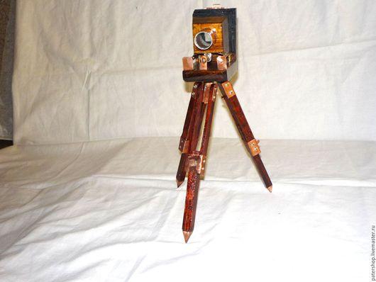 """Куклы и игрушки ручной работы. Ярмарка Мастеров - ручная работа. Купить игрушка """"старинный фотоаппарат"""". Handmade. Авторская кукла, игрушка"""