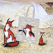 """Одежда ручной работы. Ярмарка Мастеров - ручная работа """"Рыжая парочка"""" футболки для мамы и ребенка. Handmade."""