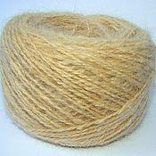 Материалы для творчества handmade. Livemaster - original item Yarn fluff collie