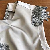 Одежда ручной работы. Ярмарка Мастеров - ручная работа Платье с кружевом.. Handmade.