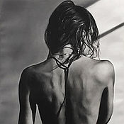 Картины и панно handmade. Livemaster - original item Oil painting grace 85h55 cm. Handmade.