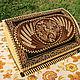 A bread box of birch bark 'the Firebird'. Bread box with a pattern. The bins. SiberianBirchBark (lukoshko70). Online shopping on My Livemaster.  Фото №2
