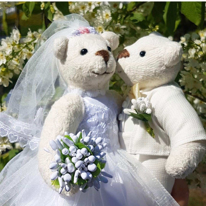 Свадебные мишки тедди, Мишки Тедди, Москва,  Фото №1
