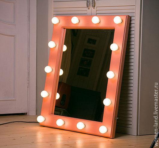 Гримерное зеркало с подсветкой своими руками 77