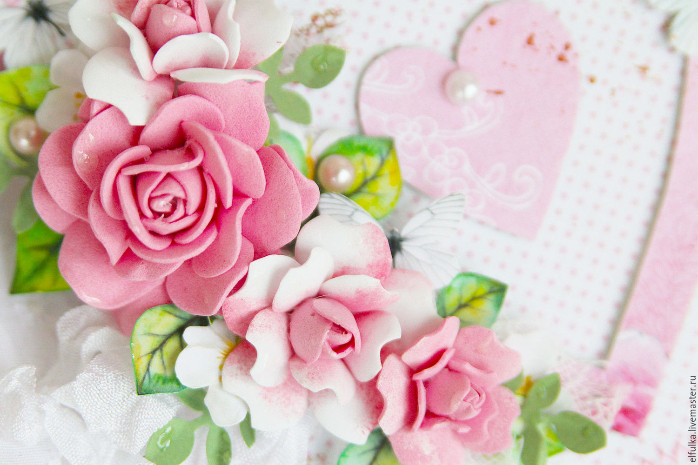 Красивые открытки с цветочками 33