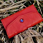Сумки и аксессуары handmade. Livemaster - original item Purse red art. 422. Handmade.