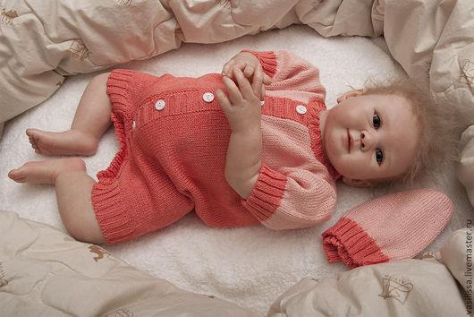 Песочник для малышей. Коралловый с розовым. Попова Е.И.
