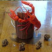 """Муляжи блюд ручной работы. Ярмарка Мастеров - ручная работа Бирдекель """"Рак"""". Handmade."""