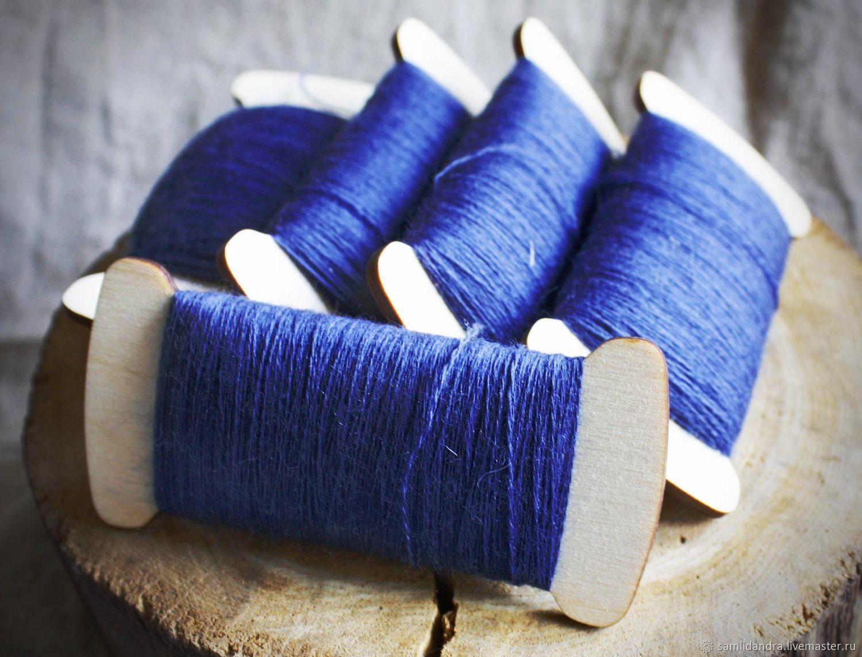 Вышивка шерстью нитки