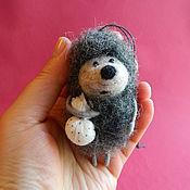 Сувениры и подарки handmade. Livemaster - original item Hedgehog pendant in the car. Handmade.