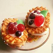 Косметика ручной работы. Ярмарка Мастеров - ручная работа Мыло Вафельки с ягодами. Handmade.