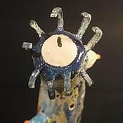 """Для дома и интерьера ручной работы. Ярмарка Мастеров - ручная работа Светильник керамический """"Гидра"""".. Handmade."""