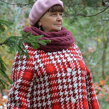 Одежда ручной работы. Ярмарка Мастеров - ручная работа Пальто: Женское пальто в клетку. Handmade.