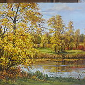 """Картины и панно ручной работы. Ярмарка Мастеров - ручная работа """" Вот и осень пришла"""". Handmade."""
