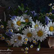 Цветы и флористика handmade. Livemaster - original item A bouquet of daisies polymer clay.. Handmade.