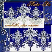 Материалы для творчества handmade. Livemaster - original item Lace patterns. Design for machine embroidery.. Handmade.