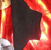 Материалы для творчества ручной работы. Ярмарка Мастеров - ручная работа УЦЕНКА!!! кожа МРС красная. Handmade.