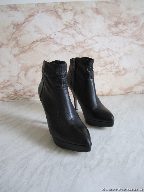 Винтаж: Ботильоны Tamaris, 40 размер, Обувь винтажная, Рязань,  Фото №1